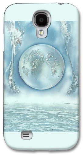 Turquoise Dream Galaxy S4 Case Printed with Fine Art spray painting image Turquoise Dream by Nandor Molnar (When you visit the Shop, change the orientation, background color and image size as you wish)