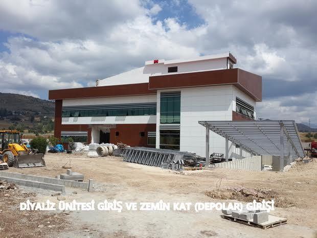 Alucra Devlet Hastanesi hızla tamamlanıyor.