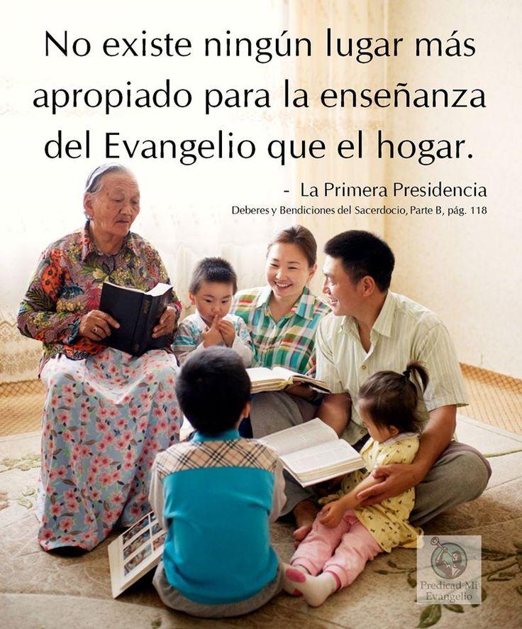 La noche de hogar existe en el plan del Señor para ayudarnos a volver a Su presencia. Es el tiempo dedicado para que les enseñemos a nuestros hijos los principios del Evangelio.