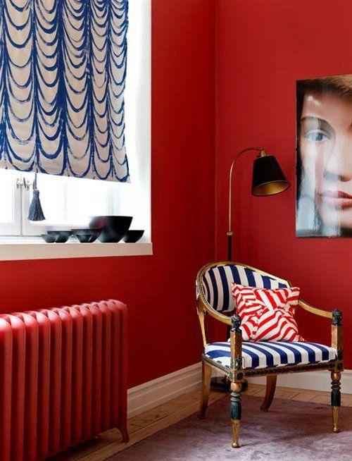 Colores para interiores 2017 en paredes y decoración