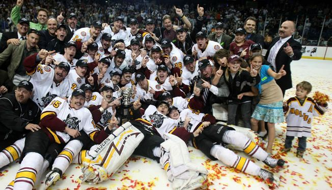 For the sixth time since joining the AHL, the Chicago Wolves have captured a division championship, as they beat the Charlotte Checkers on Saturday night.