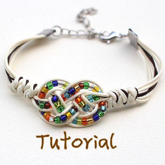 eBook Feliz Free Tutorial to Chinese knot bracelet by KnotAWish: