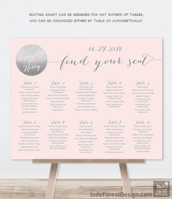 67 best Wedding SEATING CHARTS ✶ images on Pinterest Wedding - wedding chart