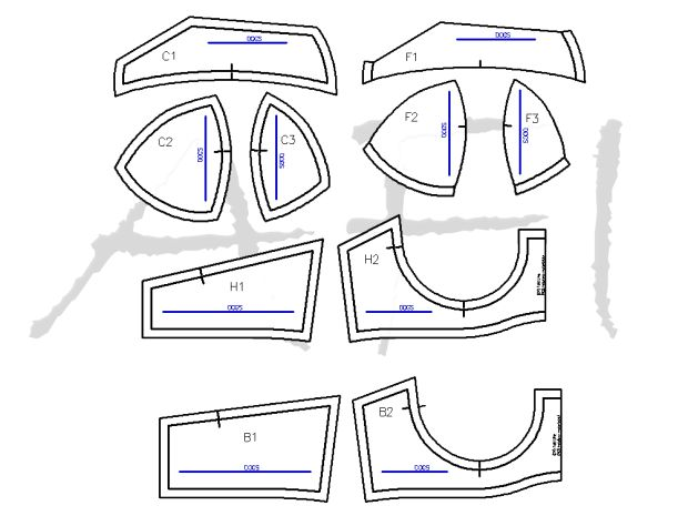 Pin for later...1.4k010The Maya Sewing Bra Pattern is for a three-piece cup…