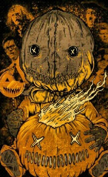Trick r Treat ((best halloween movie, always watch it, every year))