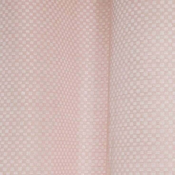 PHOEBE pink eyelet curtain 140 x 300cm | Maisons du Monde