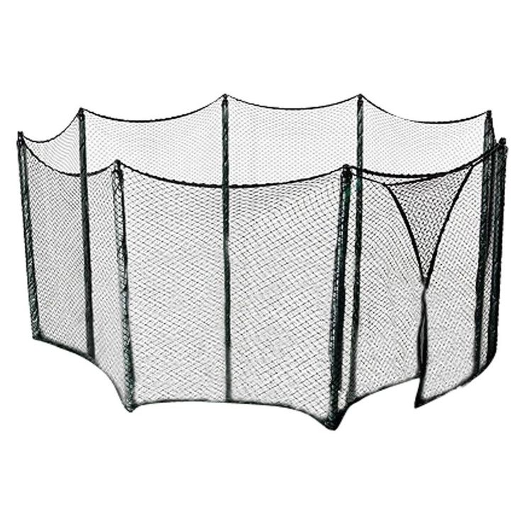 Good Trampoline Enclosure Netting Measuring Linear ft Fits for Multiple Trampoline Frame Shapes Sizes