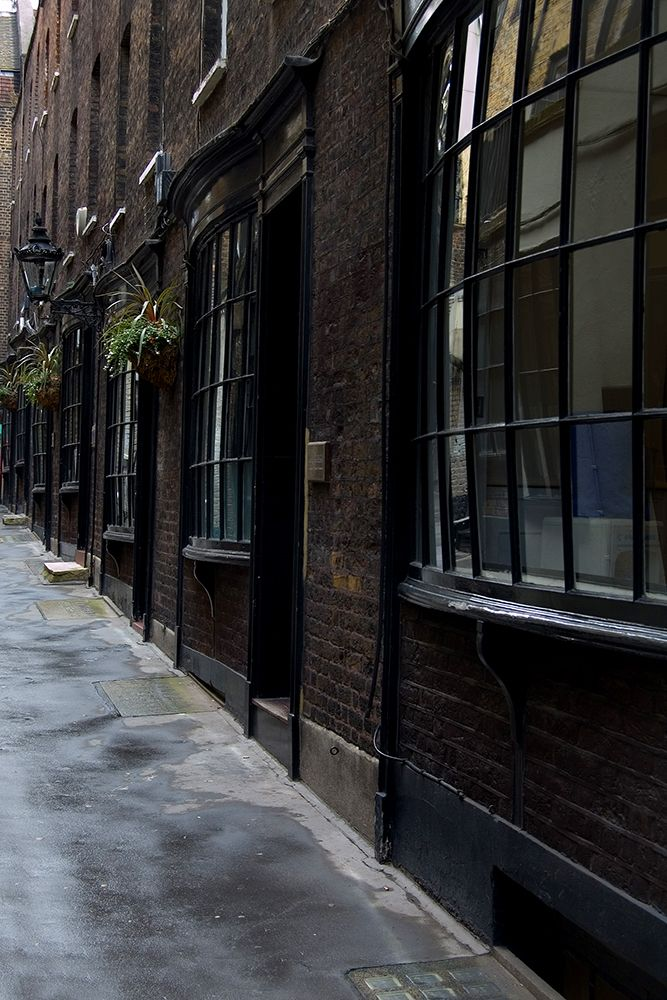 Goodwins Court. Last surviving Georgian street in the centre of London
