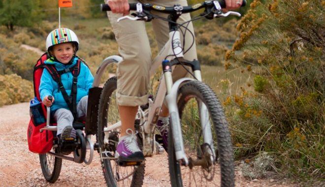 Weehoo remolque para bicicletas http://buenespacio.es/weehoo-remolque-para-bicicletas.html #bicicleta #remolque #niños #deporte #bicicletas