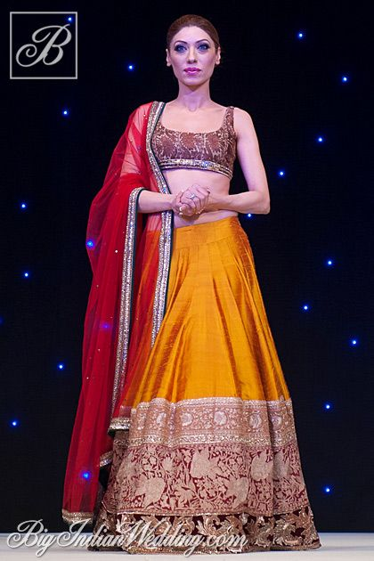 Manish Malhotra lehenga for sangeet night