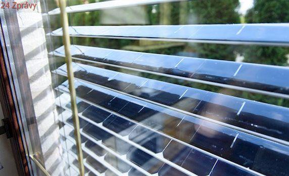 Nemáte na solární střechu? Ušetřete levnými solárními žaluziemi