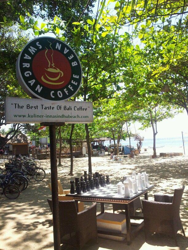 Beautiful Day in Sanur Beach Bali, Indonesia.