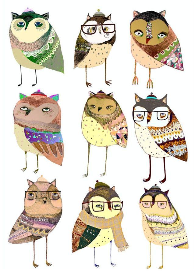 Os animais estilosos de Ashley Percival - BLCKDMNDS
