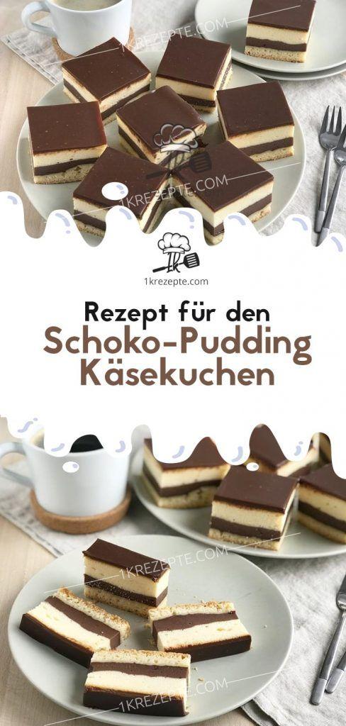 Rezept für den Schoko-Pudding Käsekuchen