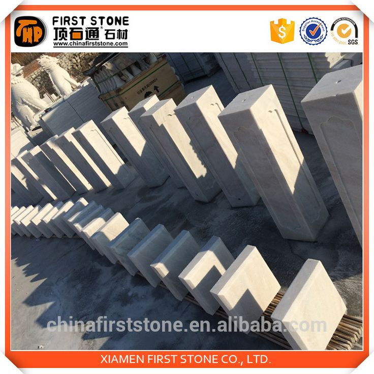 Canton fair best selling product snow white marble high quality house pillars designs