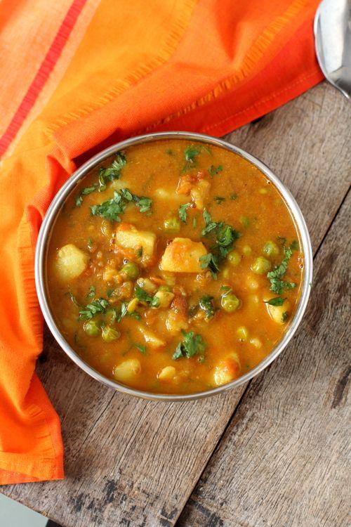 Aloo Matar | Potato & Pea Curry