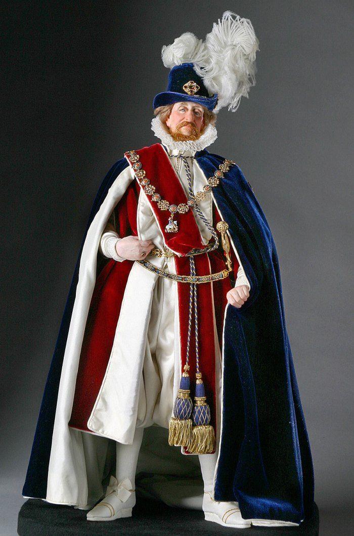 Джеймс I Стюарт (19 июня 1566 — 27 марта 1625 ). Первый король Англии из династии Стюартов. Был одним из самых образованных людей своего времени