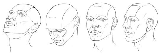 How to Draw the Head from any angle