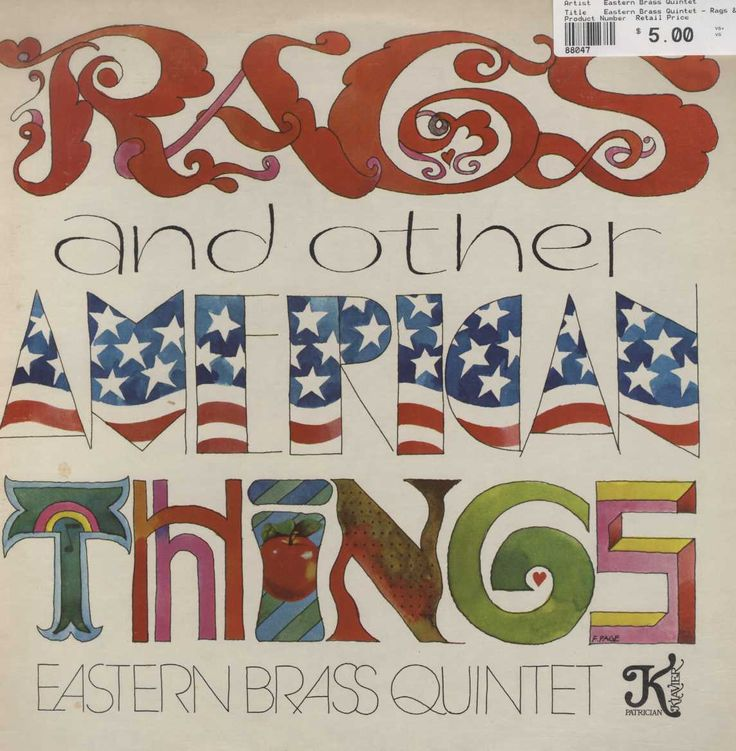 Eastern Brass Quintet - Rags & Other American Things