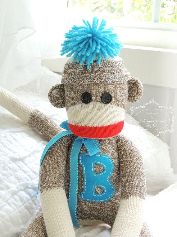 Calcetín mono muñeca, elige tu Color  ** Hecho a la medida con una creación para el período de envío de 3 a 5 días hábiles.  Si se elige