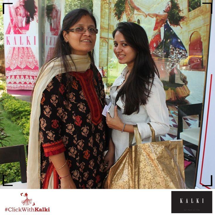 #ClickWithKalki #customers #golden #happy #shopping #sale #wedding #desi #ethnic #fashion