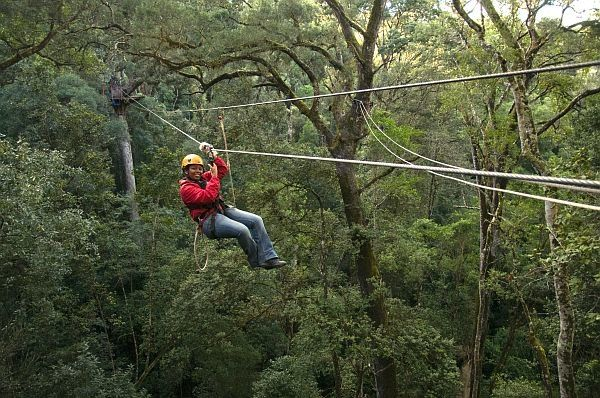 This adventure activity for all ages lets you slide through the tree tops of the ravine forest, experiencing birdlife and the spectacular views of the Zambezi gorge, Victoria Falls Bridge and spray of the falls.
