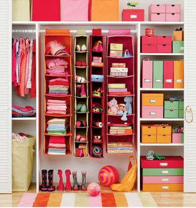 organized closets!!