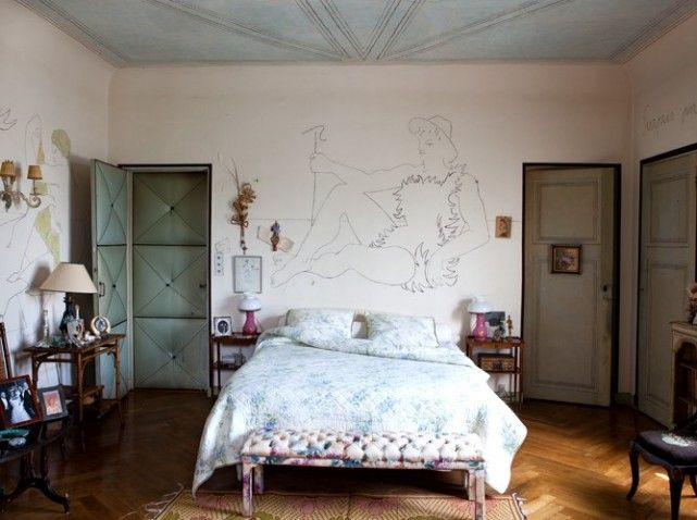 Jean Cocteau/Madeleine Castaing Villa Santo Sospir