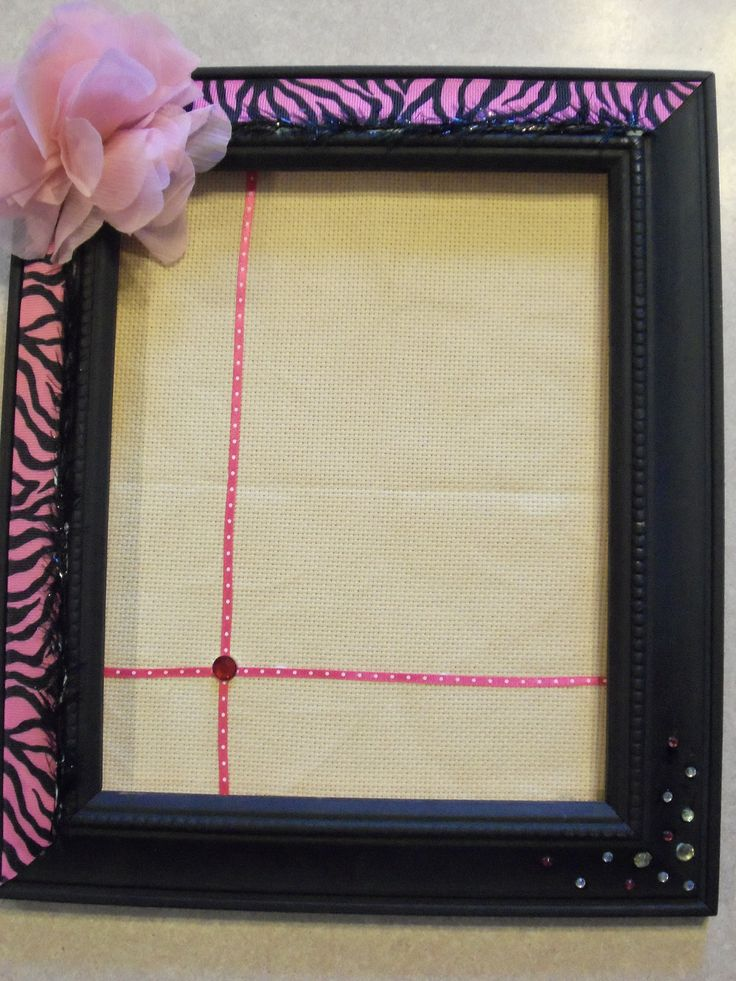 1000 ideas about homemade earring holders on pinterest for Diy fabric picture frame
