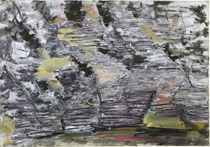 Oton Gliha (1914-1999), Dry Stones of Bakar, 1955-57. oil on canvas, 813 x 1160 mm