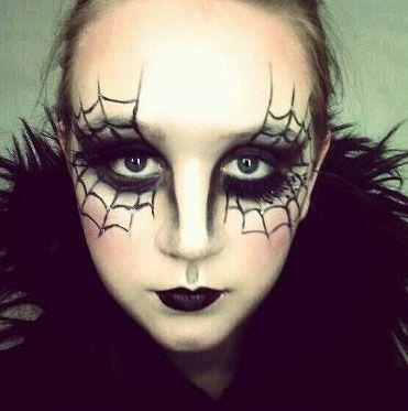Make Up Occhi Ragnatele Halloween 2014
