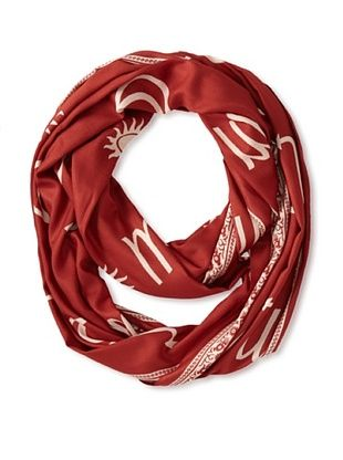 60% OFF Sir Alistair Rai Women's Zodiac Circle Scarf (Scorpio)