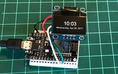 I was looking for a straightforward clock to use with a 128x64 OLED I got from Adafruit but found that a lot of the implementations were too cumbersome, involved a...