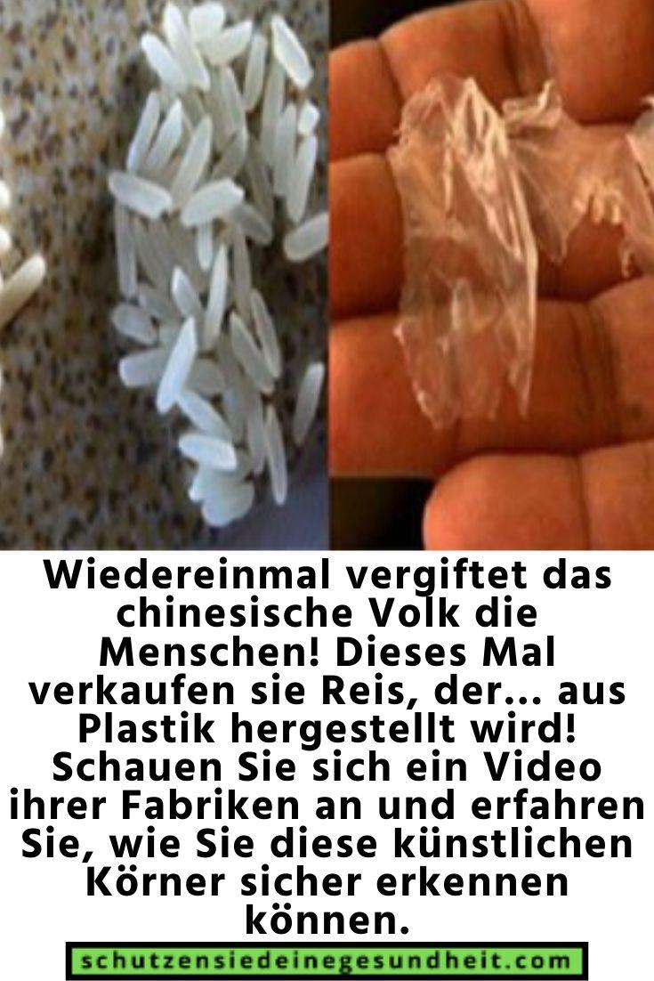 Plastik In Reis