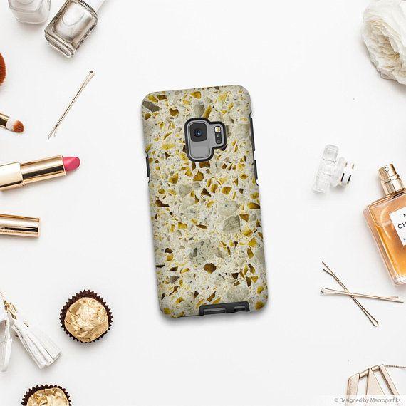 Stone texture phone case, Google Pixel XL case, Samsung A5 2017, Samsung S9 Plus, iPhone 6S, Samsung Galaxy S8, iPhone X, iPhone 7. MW096
