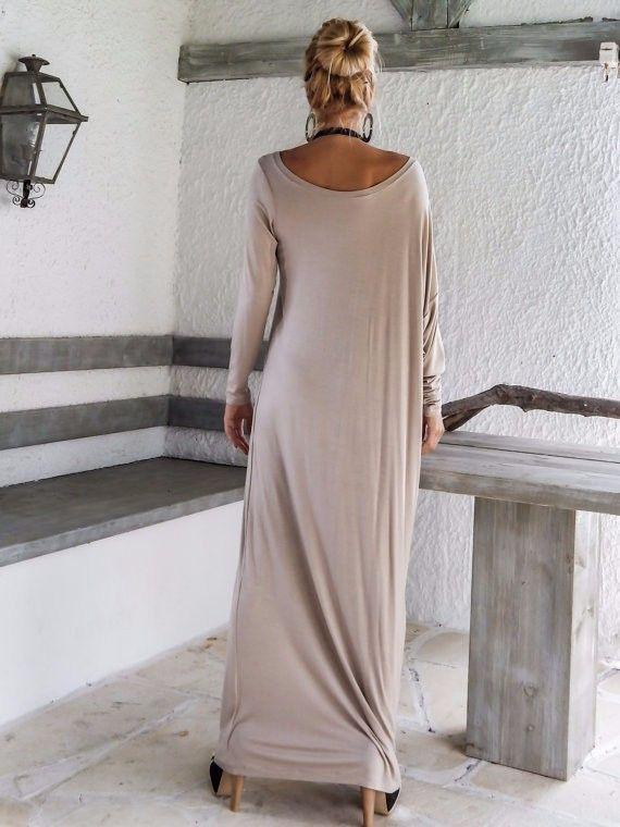 Женщины осень платье длинный рукав макси платье vestido лонго сексуальный ну вечеринку платья рабочий vestidos femininos купить на AliExpress