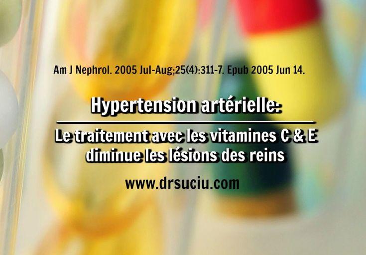 Photo Le traitement avec les vitamines C et E en cas d'hypertension artérielle - Dr.Suciu