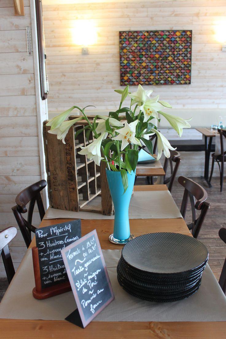 Prêt à vous accueillir au Restaurant Escapades à Bénodet ! #escapades #restaurant #plagedutrez #benodet #finistere #bretagne