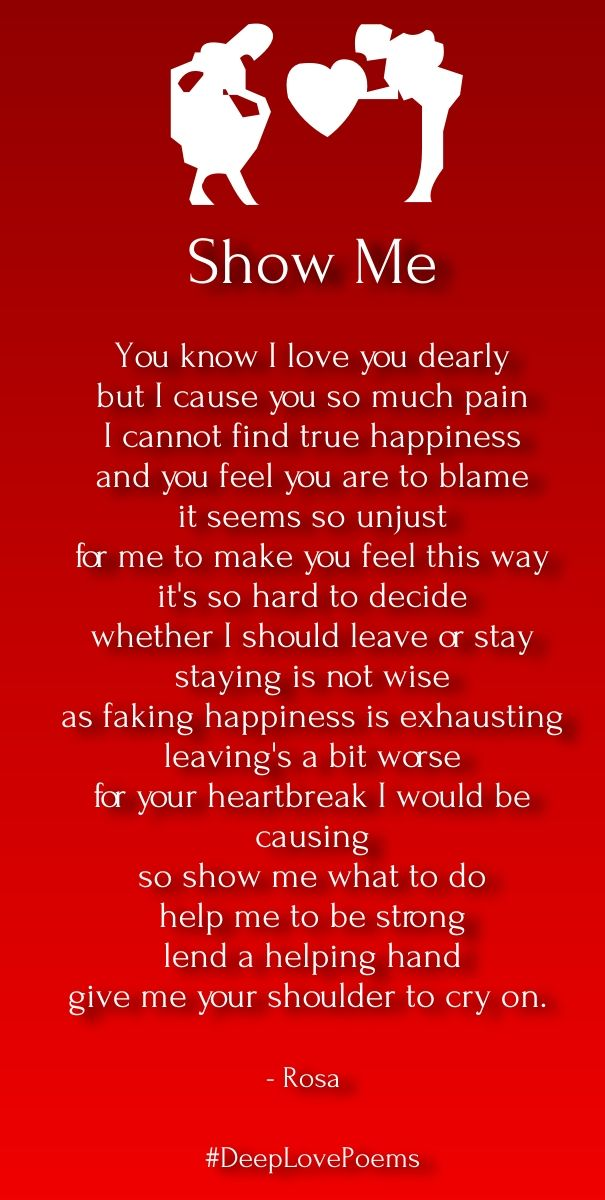 short deep love poems for him | Cute Love Quotes for Her ...