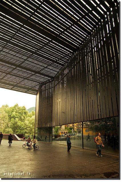 RCR Arquitectes. Joan Puigcorbé  Public Space Teatro La Lira. Ripoll