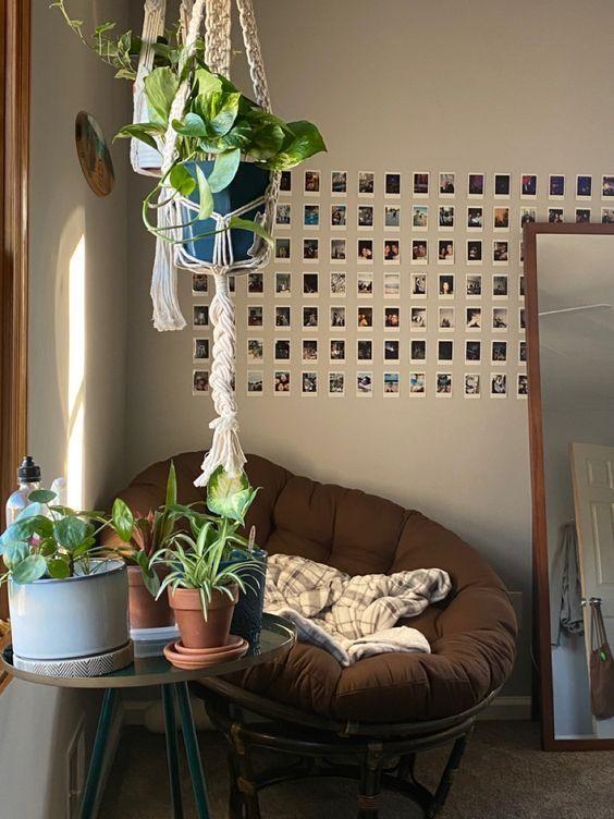 Room Ideas Bedroom, Bedroom Inspo, Bedroom Decor, Casa Pop, Room With Plants, Indie Room, Minimalist Room, Pretty Room, Room Goals