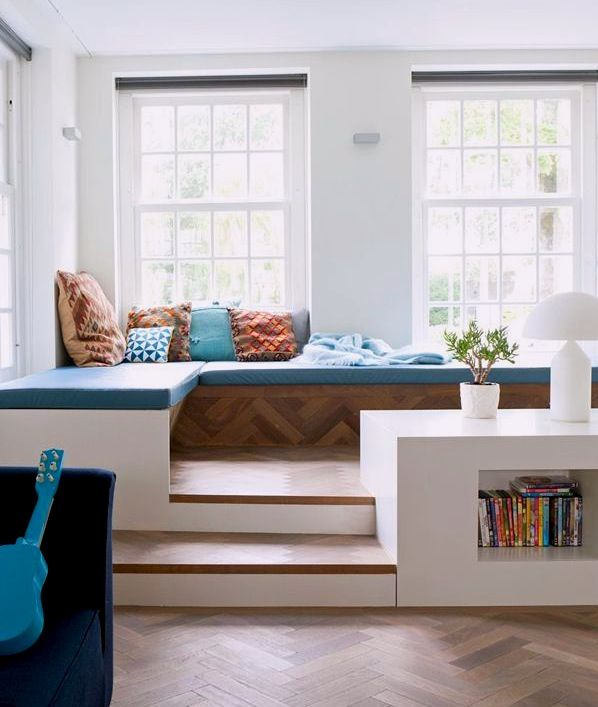 Floor Bed With Storage Part - 40: 110 Best Raised Floor Storage Images On Pinterest   Architecture, Bedroom  Ideas And Small Spaces