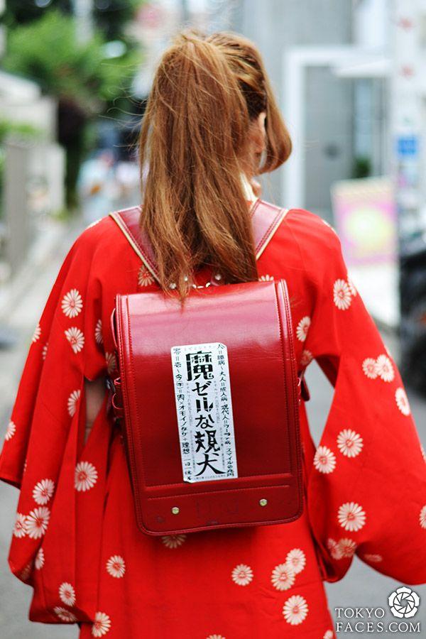 Japanese backpack #japanese #streetfashion #fashion #japanesefashion