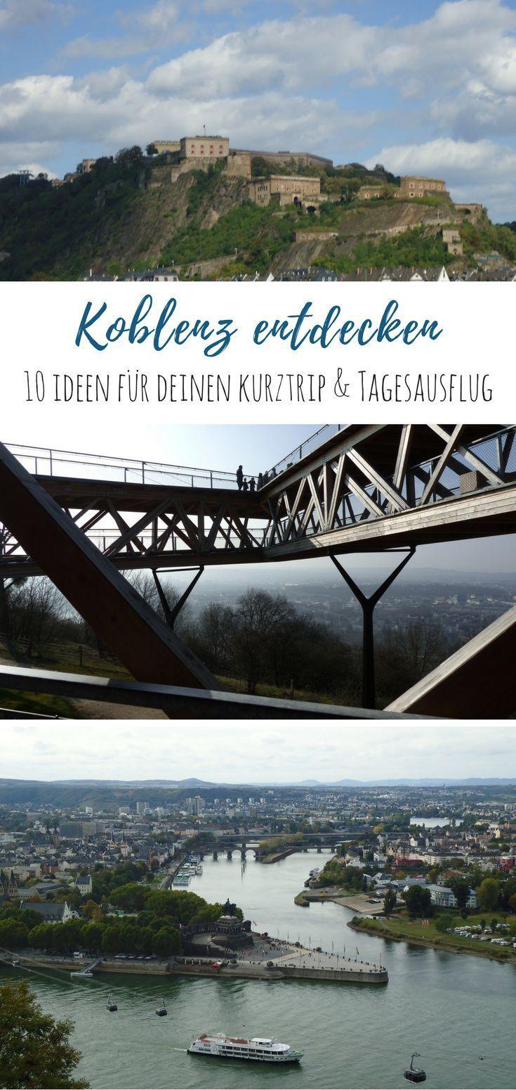 a05f4cfe44535 10 Tipps für den Besuch in Koblenz | Ausflugsziele Rheinland-Pfalz Urlaub  Tipps Gruppenboard | Tagesausflüge deutschland, Koblenz, Deutschland