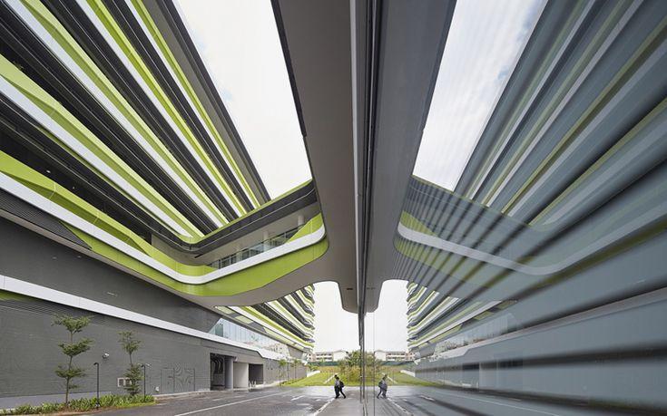 unstudio singapore university of technology and design dp architects designboom