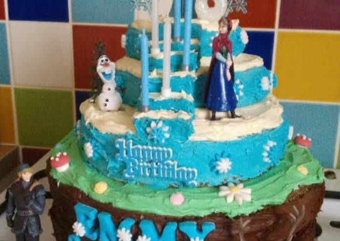 how to make frozen decorations