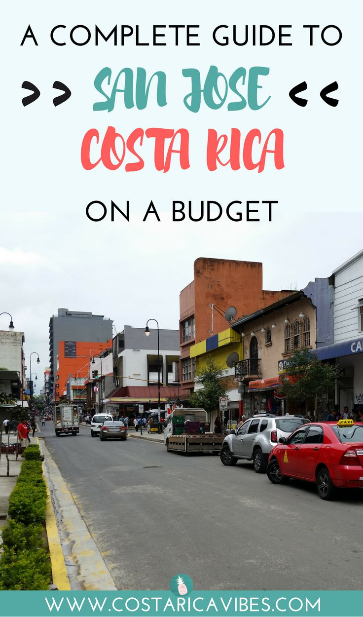 This San Jose Costa Rica budget travel guide is filled with transportation info, fun activities, hotels, the best affordable restaurants, and more!