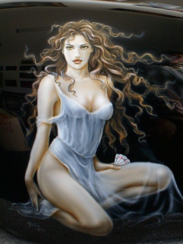 Airbrush art erotic fantasy