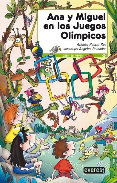 Se acaban de inaugurar unos Juegos Olímpicos muy especiales, ya que sus protagonistas son los animales. Ana y Miguel no pueden perderse la carrera entre el huevo y la gallina, al pato arquero o la maratón de caracoles.
