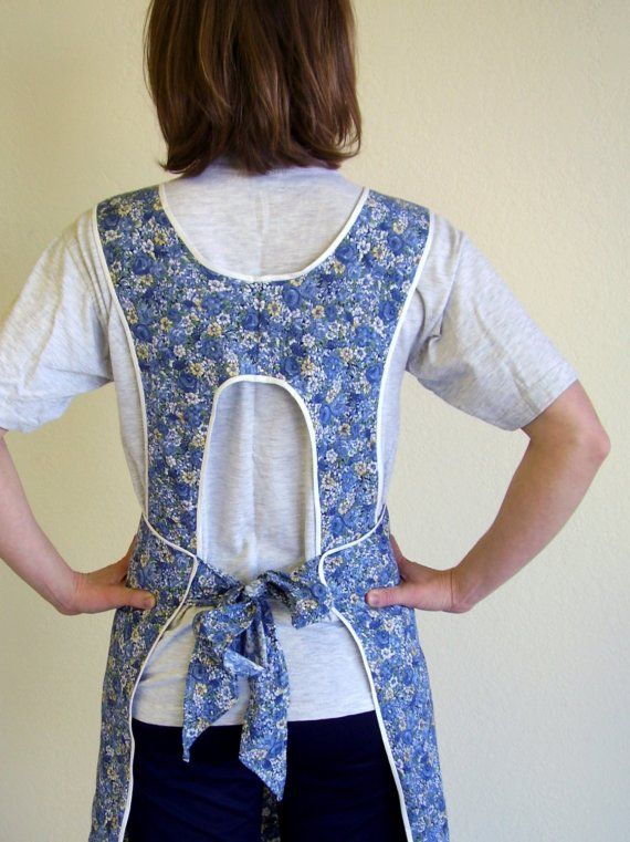 Reserved Pattern Grandma S H Back Apron By Efran On Etsy